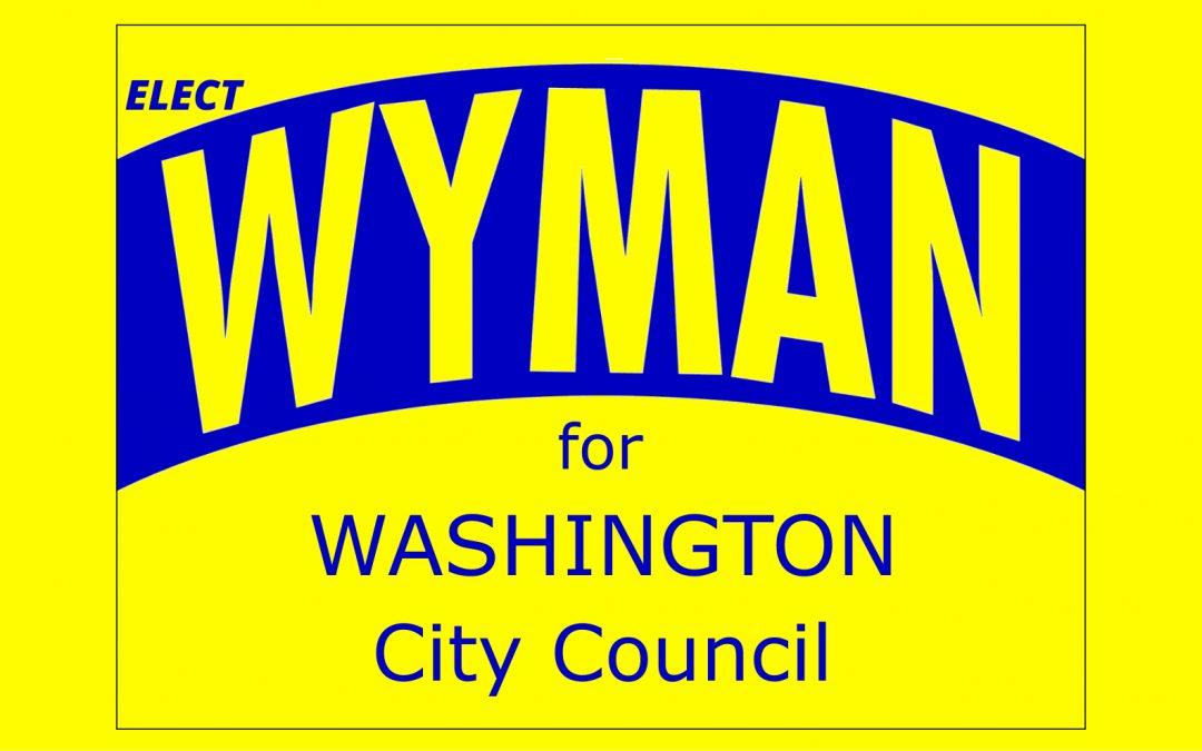 Vote Roland Wyman